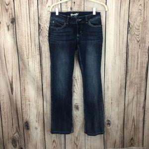 Wrangler Dark Wash Bootcut Jeans 1/2 X 32